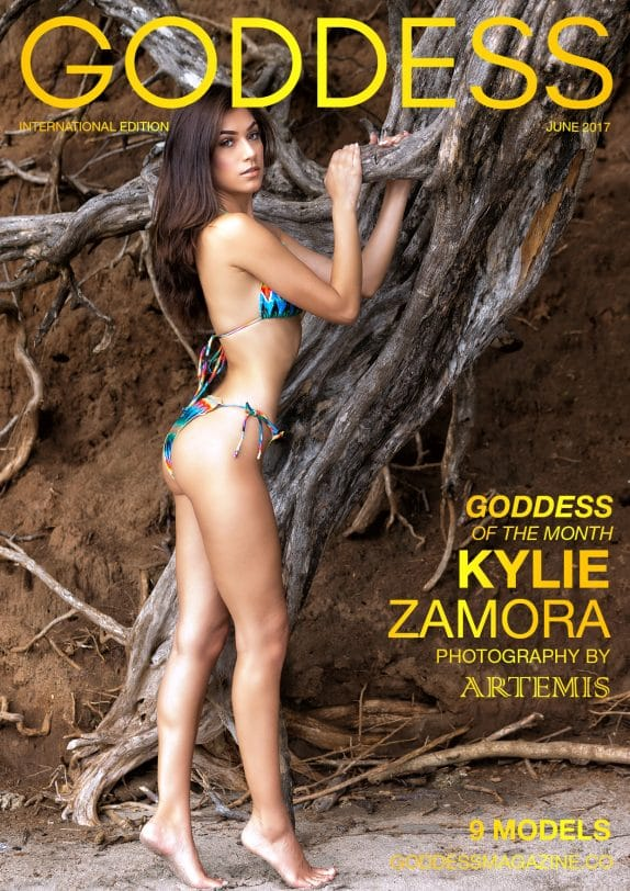 Goddess Magazine - June 2017 - Kylie Zamora 1