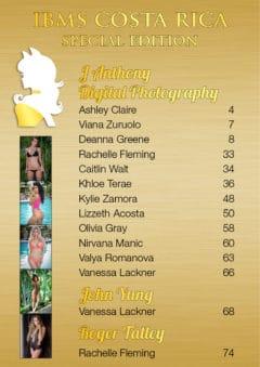 Vanquish Magazine – IBMS Costa Rica – Part 3 – Deanna Greene