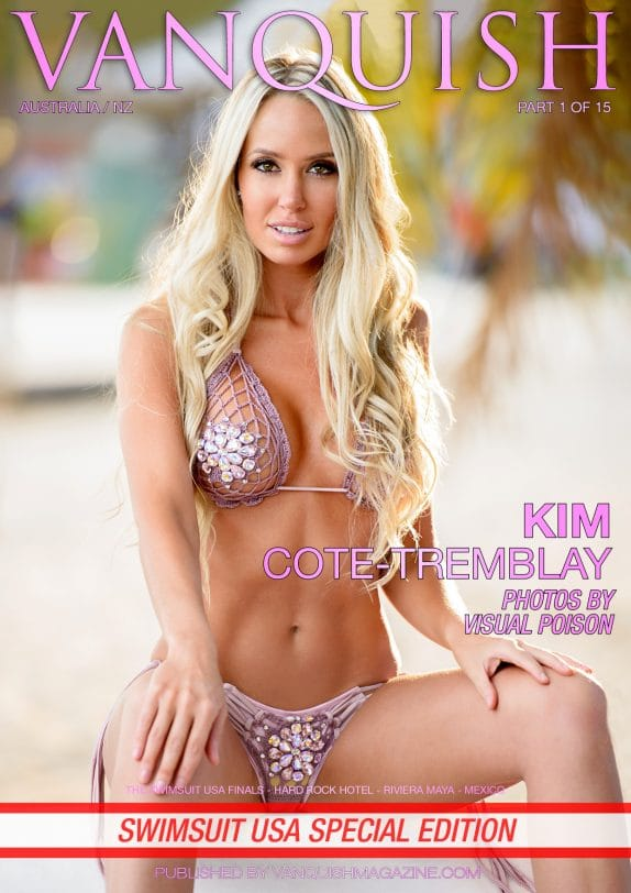 Vanquish Magazine - Swimsuit USA - Part 1 - Kim Cote-Tremblay 2