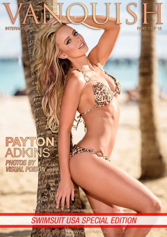 Vanquish Magazine - Swimsuit USA - Part 1 - Payton Adkins 5