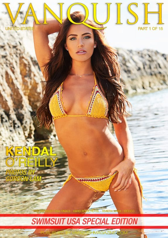Vanquish Magazine - Swimsuit USA - Part 1 - Kendal O'Reilly 4