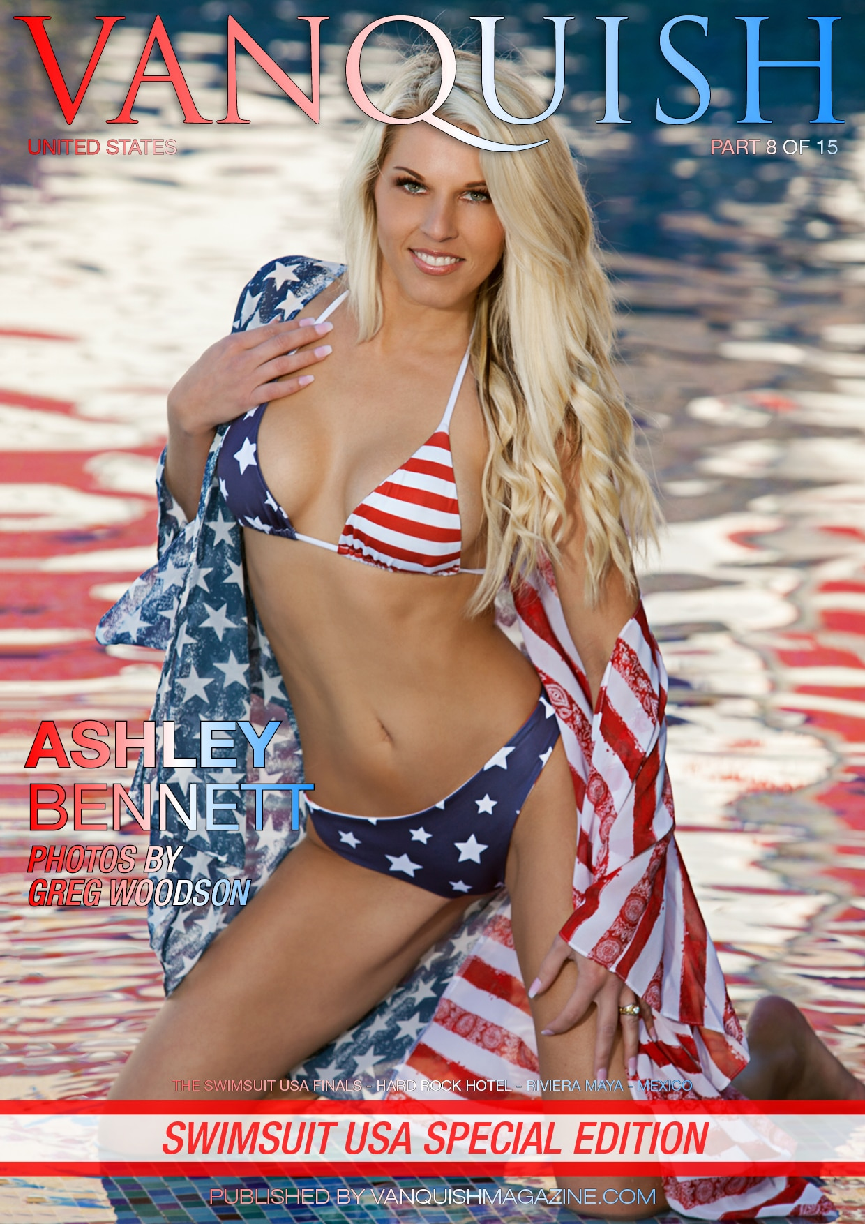 Vanquish Magazine - Swimsuit USA - Part 8 - Ashley Bennett 1